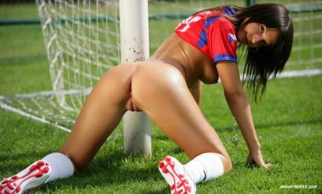 порно девушек в футбольной форме